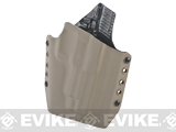 KAOS Concealment Belt / MOLLE Kydex Holster (Model: WE-Tech F226 / Dark Earth / Right Hand)