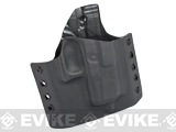 KAOS Concealment Belt / MOLLE Kydex Holster - WE26 / P226 Series (Right / Black)