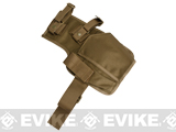 Matrix SMG Thigh / Belt Holster - Coyote Brown