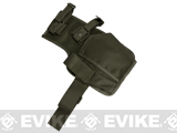 Matrix SMG Thigh / Belt Holster - Foliage Green
