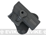 Hardshell Adjustable Paddle Holster for Glock ATP ACP G-Series Pistols by Matrix
