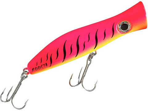Halco Roosta Popper Hard Body Floating Lure (Size: 160 / Pink Fluouro)