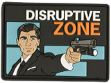 z Haley Strategic Partners Disruptive Zone PVC Morale Patch