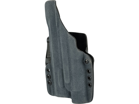 Haley Strategic INCOG IWB Holster System with Full Guard by G-Code (Color: Slate Blue / Glock 17 with Steamlight TLR-1)