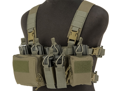 Haley Strategic HSP Disruptive Environments Chest Rig D3CR-X Heavy (Color: Ranger Green)