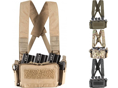 Haley Strategic HSP D3CRM Disruptive Environments Micro Chest Rig (Color: Coyote)