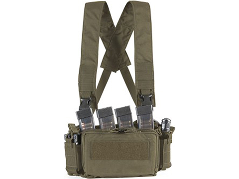 Haley Strategic HSP D3CRM Disruptive Environments Micro Chest Rig (Color: Ranger Green)