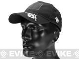 Evike.com Mil-Spec Patch Ready Tactical Ball Cap - Black (Type 2)