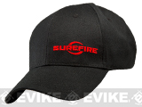 z SureFire® Embroidered Adjustable Cap - Black