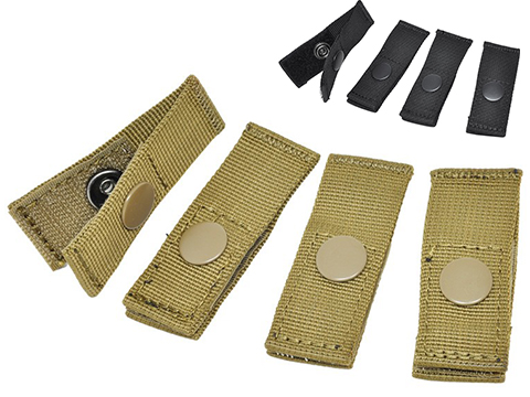 Hazard 4 MOLLE-PAL Mounting Joints For Webbing Systems (Color: Coyote)