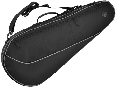 Hazard 4 Dropshot™ Tennis Racket-style Padded Rifle Case (Color: Black)