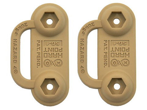 Hazard 4 HardPoint® SG1 Stop Gap (Color: Coyote / 2 Pack)