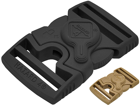 Hazard 4 Patented 2 Rotor Locking Buckle