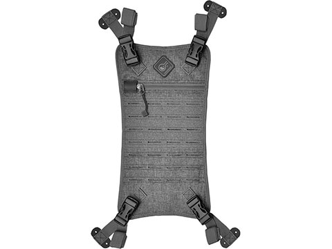 Hazard 4 Beaver Tail MOLLE Panel for Pillbox Series Bags (Color: Gray)