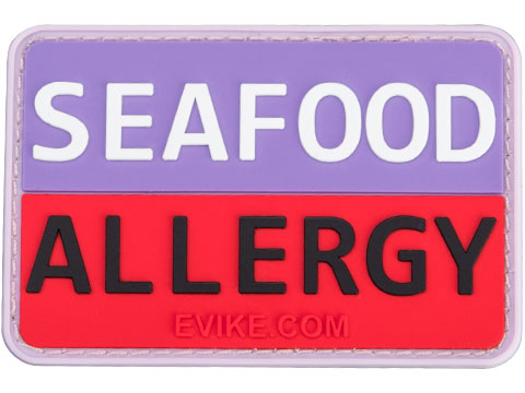 Seafood Allergy PVC Medical Patch
