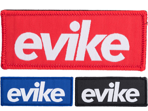 Evike.com BOGO High Quality Embroidered Morale Patch (Style: Red)