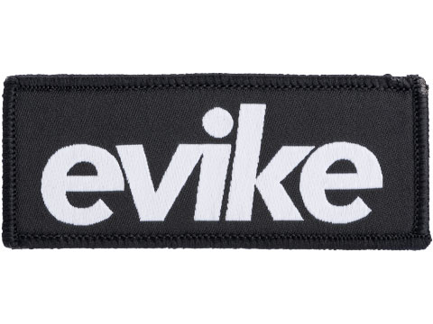 Evike.com BOGO High Quality Embroidered Morale Patch (Style: Black)