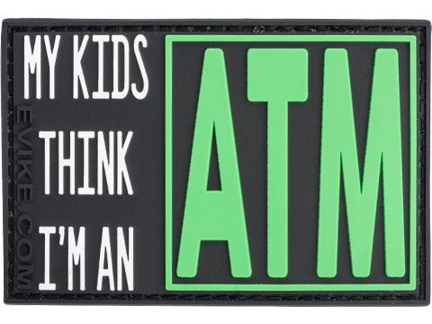 My Kids Think I'm An ATM PVC Morale Patch