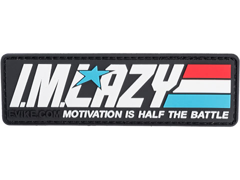 I.M. Lazy - Motivation is Half the Battle PVC Morale Patch