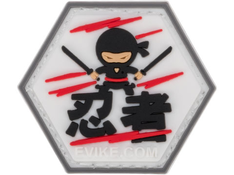 Operator Profile PVC Hex Patch Asian Characters Series 1 (Style: Ninja)