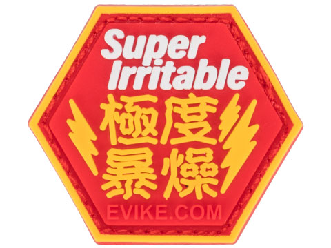 Operator Profile PVC Hex Patch Asian Characters Series 1 (Style: Super Irritable)