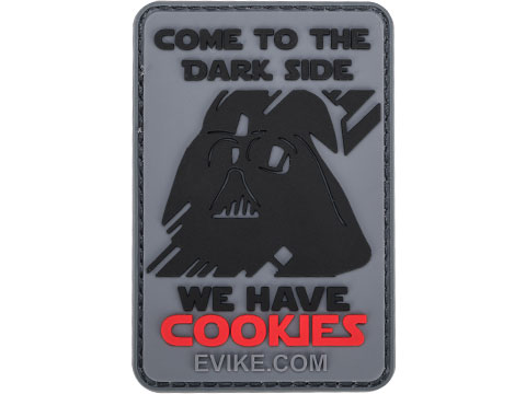 Dark Side Has Cookies PVC Morale Patch