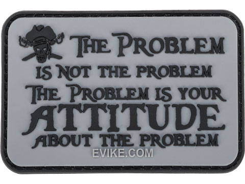 The Problems Not The Problem 3 x 2 PVC Morale Patch