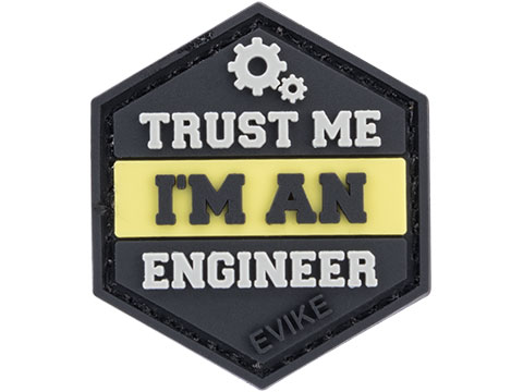 Operator Profile PVC Hex Patch Trust Me Series (Style: Engineer)