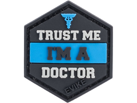 Operator Profile PVC Hex Patch Trust Me Series (Style: Doctor)