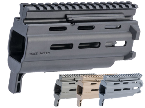 HB Industries Pakse Sapper 6.4 M-LOK Handguard For CZ Scorpion EVO 3 Pistols and Rifles