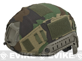 Vaultac Bump Type Helmet Cover - M81 Woodland