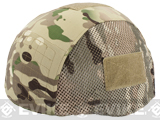 Matrix Helmet Cover for MICH 2002 Airsoft Helmet - Land Camo