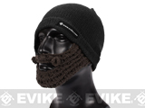 Evike.com Tactical Beard Beanie - Black / Brown