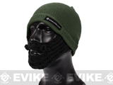 Evike.com Tactical Beard Beanie (Color: OD Green / Black)