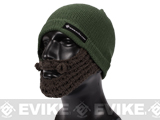 Evike.com Tactical Beard Beanie (Color: OD Green / Brown)