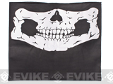 Evike.com Multi Purpose Head Wrap - Ghost Skull