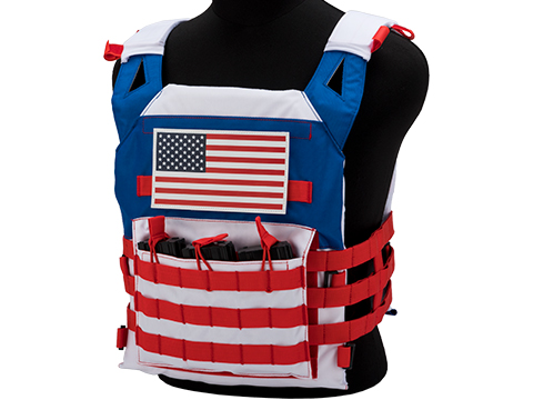 Helix Airsoft The Patriot Jumpable Plate Carrier Vest