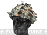 Avengers Lightweight Airsoft Helmet - Fall Forest Camo