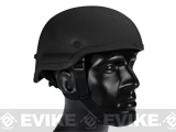 Matrix Tactical Systems MICH 2000 Style Replica Kevlar Helmet (Black)