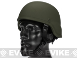 Matrix MICH 2000 Fiberglass Airsoft Helmet (Color: OD Green)