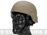 Matrix MICH 2000 Fiberglass Airsoft Helmet (Color: Tan)