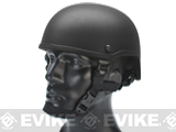 MICH 2001 Fiberglass Airsoft Helmet by Matrix - Black