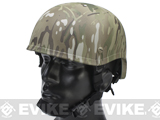 MICH 2001 Fiberglass Airsoft Helmet by Matrix - Land Camo
