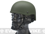 Matrix MICH 2001 Fiberglass Airsoft Helmet (Color: OD Green)