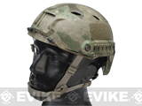Emerson Bump Type Tactical Airsoft Helmet (BJ Type / Advanced / Arid Foliage / Large - Medium)