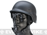Matrix Full Steel Heavyweight PASGT Style Replica Helmet - Black