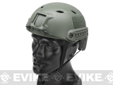 Matrix Basic Base Jump Type Tactical Airsoft Bump Helmet (Color: Foliage Green)