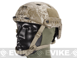 6mmProShop Advanced Base Jump Type Tactical Airsoft Bump Helmet (Color: Digital Desert / Medium - Large)