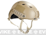 Emerson FAST Type Tactical Airsoft Helmet (BJ Type / Advanced / Dark Earth)
