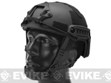 6mmProShop Advanced High Cut Ballistic Type Tactical Airsoft Bump Helmet (Color: Black / Medium - Large)